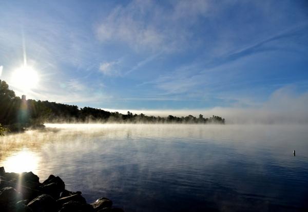 Rising mist by djh698