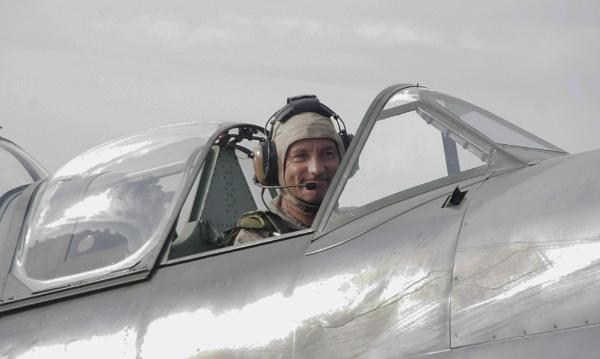 Spitfire pilot by af1