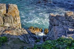 Rock pool at high tide...