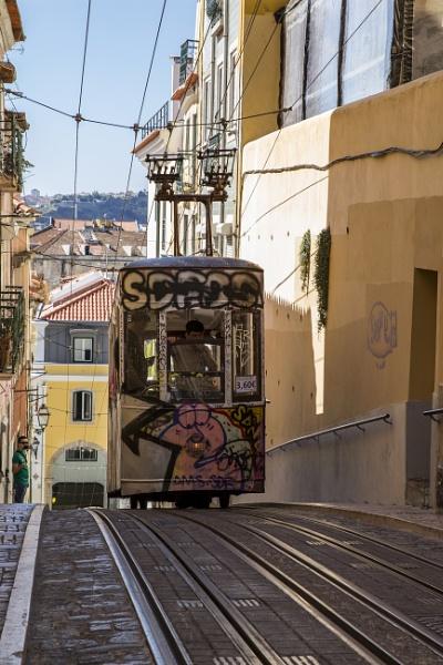 Bica Funicular Lisbon by dougscott