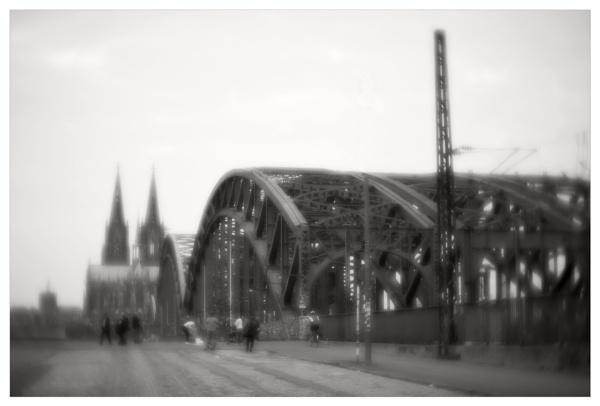 Hohenzollernbrücke /Colonge by bliba