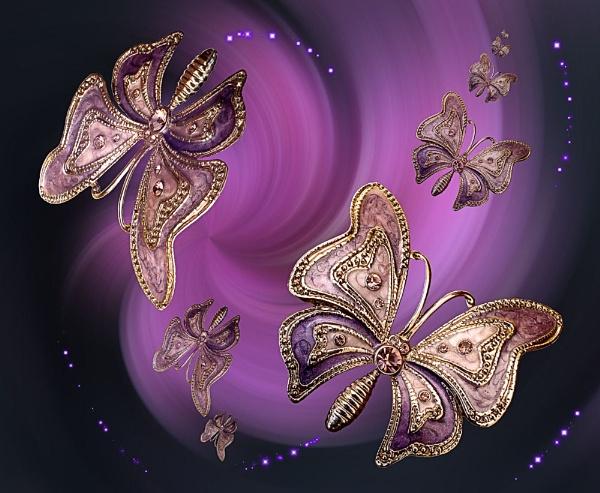 Butterfly Fantasy 14 by pamelajean