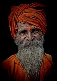 hindu devotee in Pushkar