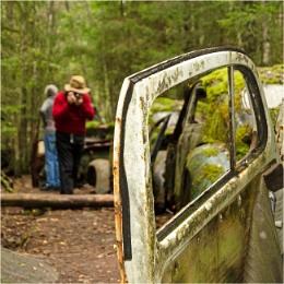 Mr Woolybill finds rust heaven