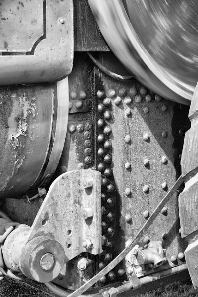 Steam Engine Detail by scorpion1946