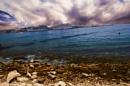 split sea shore by ginz04