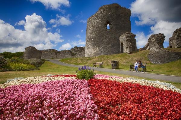 Aberystwyth castle by Garry1956
