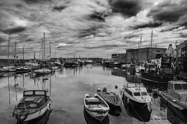 Balbriggan Harbour. by johnvincint