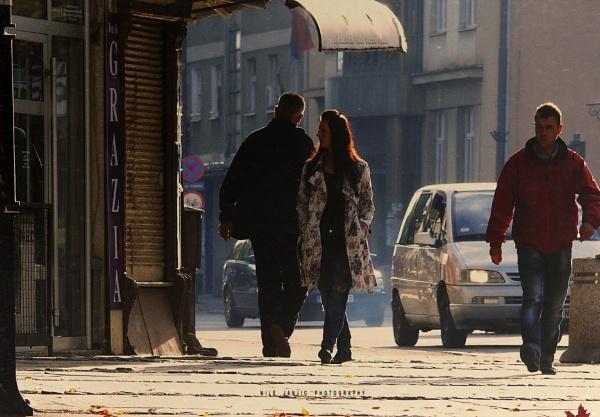 Urban Scene XV by MileJanjic