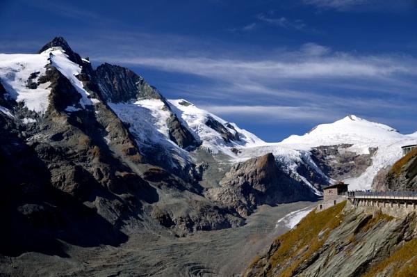 The Grossglockner pass glacier by jimbob133
