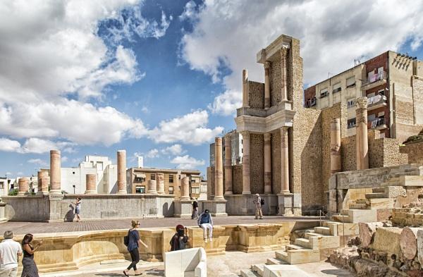 Roman Theatre by Owdman