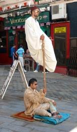 Street Entertainers. Casablanca