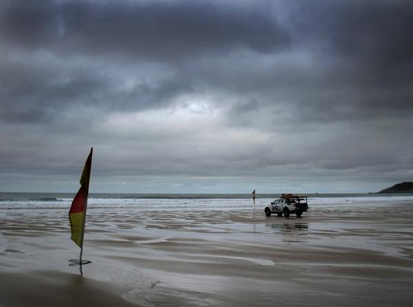 Woolacombe in the rain by paultee