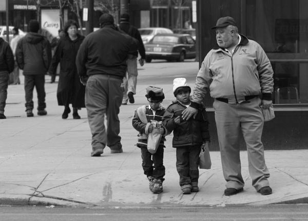 walking with Grandpa by bobdaveant
