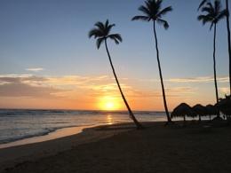 Stunning Sunrise in the Dominican Republic