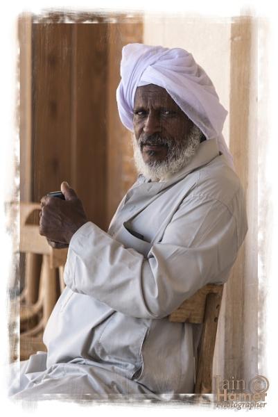 Aged Arab by IainHamer