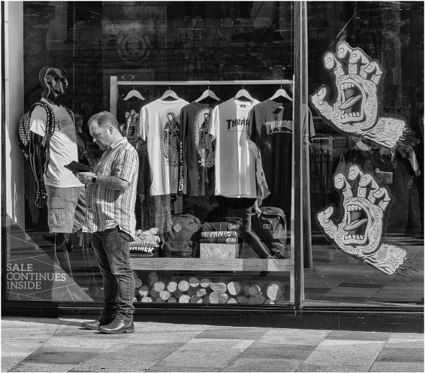 Sales continue inside. by franken