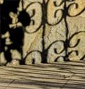 Shadows of the Sliding Garage Door by nonur