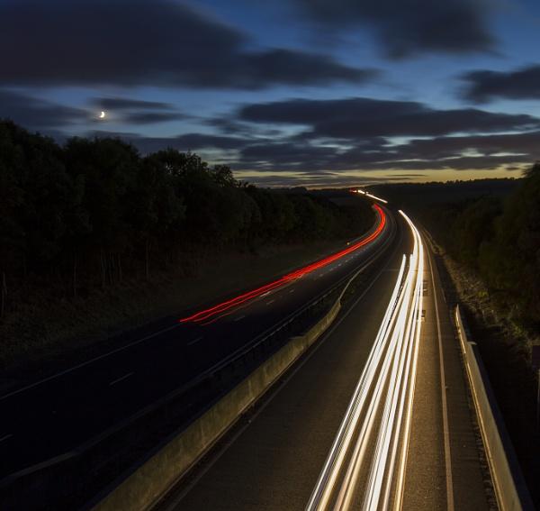 A69 lighttrails by peter1992