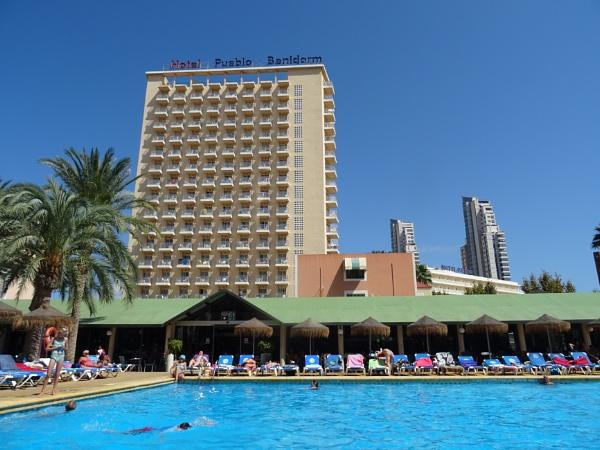 Hotel Servigroup Puablo, Benidorm by YoungGrandad