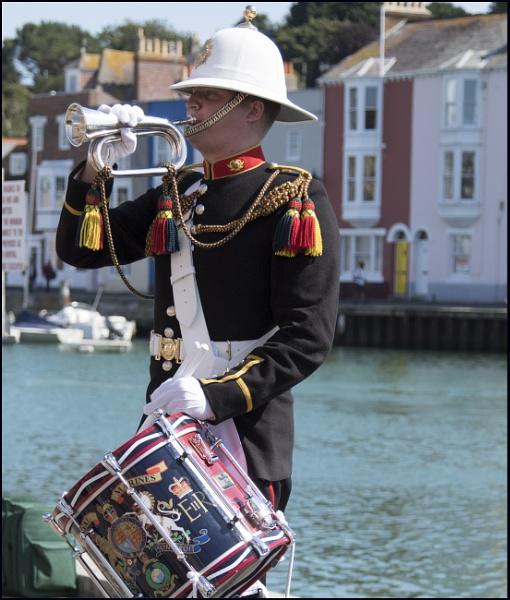 Royal Marine Bandsman by tedtoop