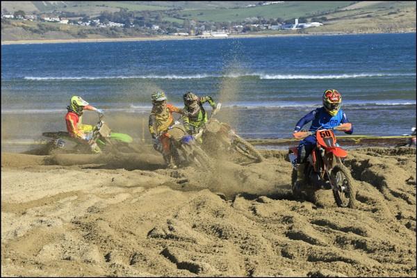 Weymouth beach annual bike racing by tedtoop