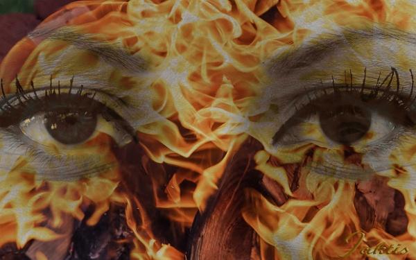 Fiery eyes by jaktis