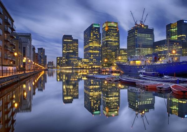 London Docklands by jimobee