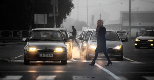 Urban Scene XVIII by MileJanjic