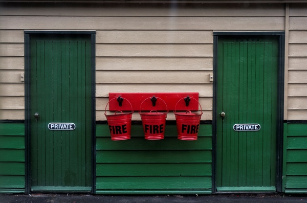 Fire Station by BigAlKabMan