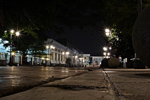 Paris van Djava at night by pptbudi