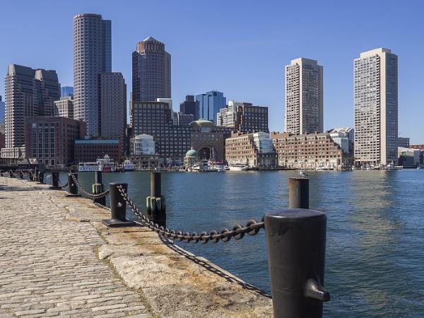 Boston Waterfront by Leedslass1