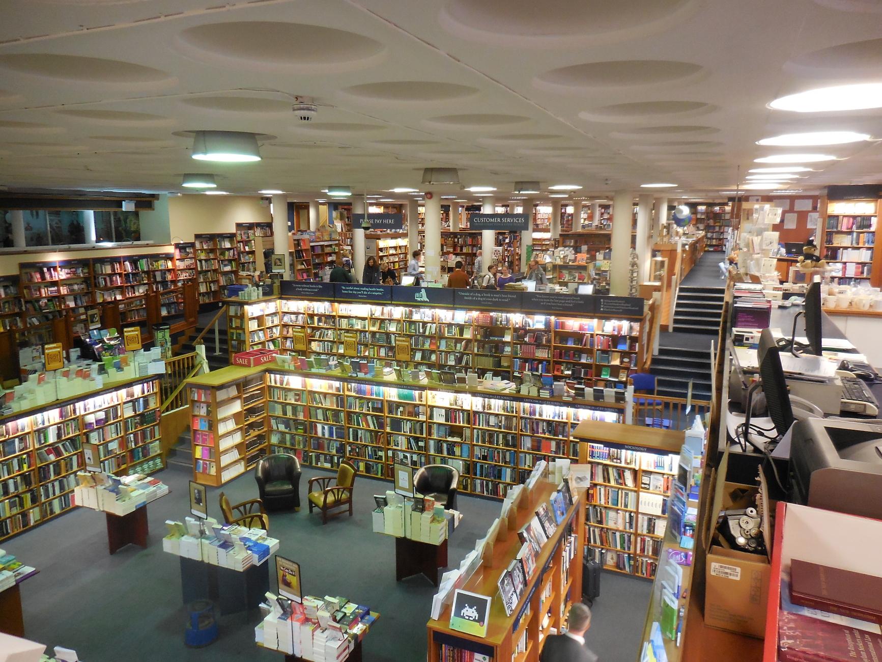 Blackwells Bookshop in Oxford