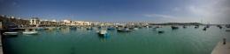 Maltese fishing village.