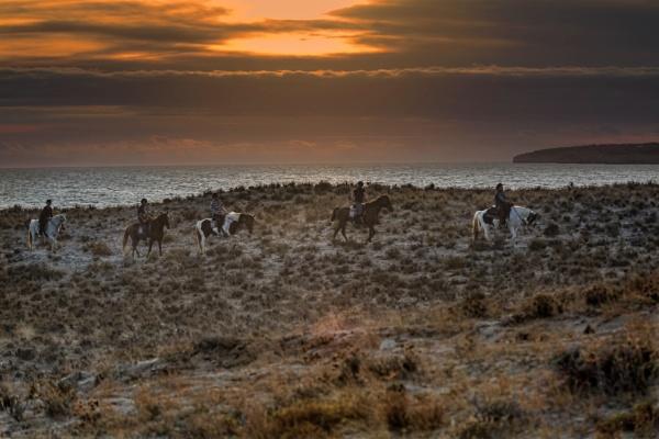 Sundown Treck by sandwedge