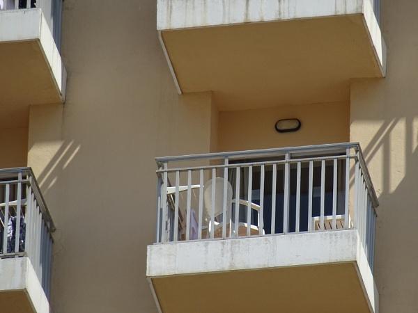 Hotel Servigroup Pueblo, Benidorm (3) our balcony (great zoom) by YoungGrandad