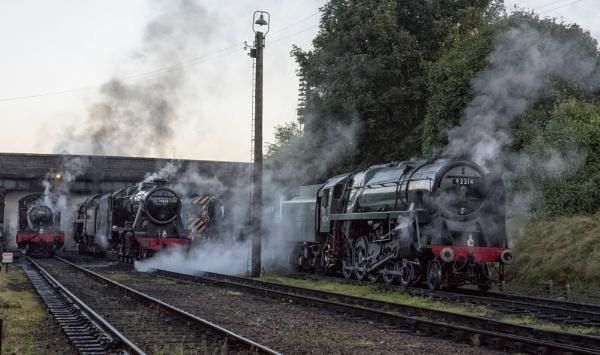 Steaming Locos by Gavin_Duxbury