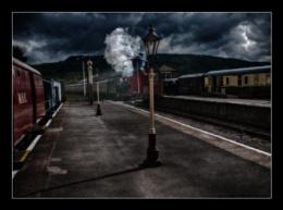 The night train.