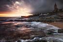 Porthleven Sunset by Tynnwrlluniau