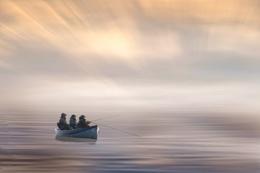 Three Fishermen in a Boat