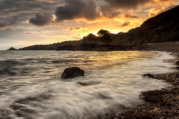 Bouley Bay Sunrise by happysnapper