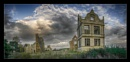 Pano of Morton Corbett Hall near Shrewsbury by deavilin