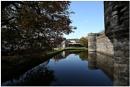 Beaumaris Castle Moat by johnriley1uk