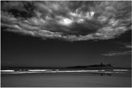 Big Sky Over Dunstanburgh
