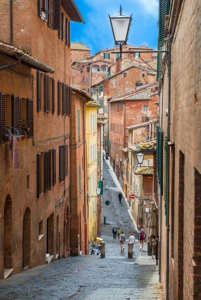 Siena Backstreet - Italy by nellacphoto
