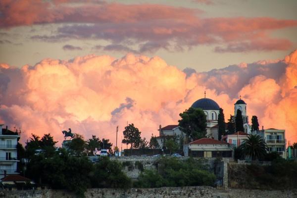 Kavala skyline by jocas