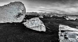 Stranded, Jokullsarlon, Iceland