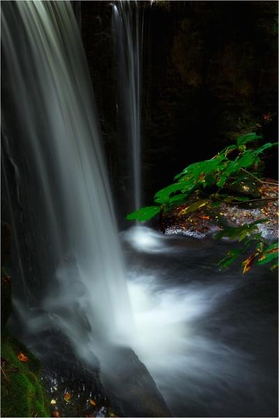 Nant Mill Waterfall by Satlight