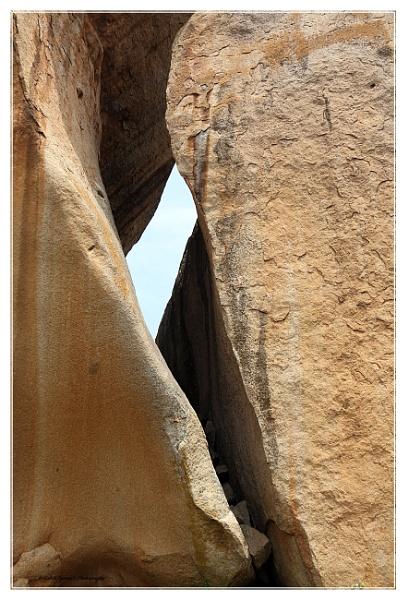 Natural rock at Chitradurga fort- Karnataka India by ashokynk