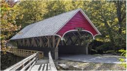 Flume Gorge Covered Bridge